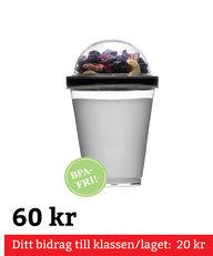 Fresh Yoghurtbägare Svart