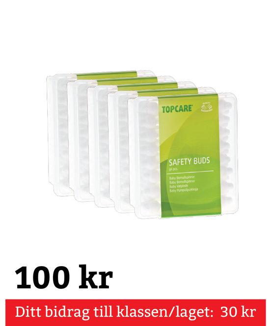 Bomullspinnar 5-Pack