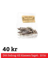 Chokladbräcke Lakrits