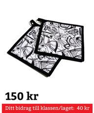 Kosta Linnewäfveri Grytlapp 2-Pack