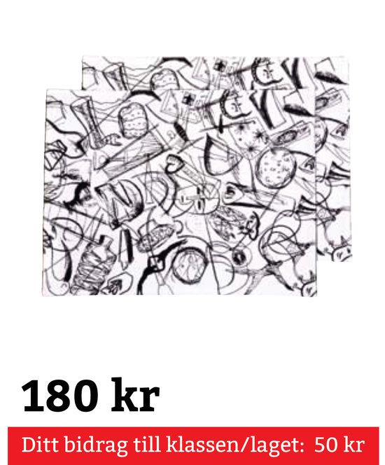 Kosta Linnewäfveri Bordstablett 2-Pack
