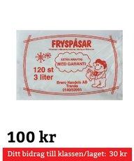 Fryspåsar 3 Liter 120 st