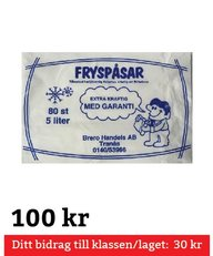 Fryspåsar 5 Liter 80 st