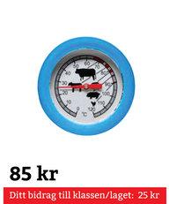 BBQ Rund Termometer Turkos