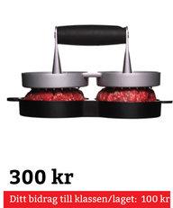 BBQ Hamburgerpress Dubbel