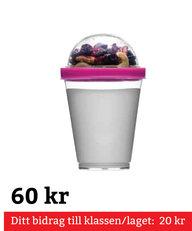 Fresh Yoghurtbägare Rosa
