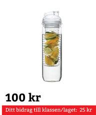 Flaska Med Kolv För Frukt Klar