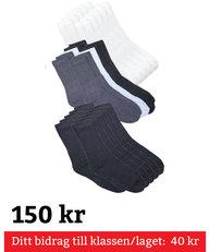 Sportstrumpa 10-Pack Str 36-40