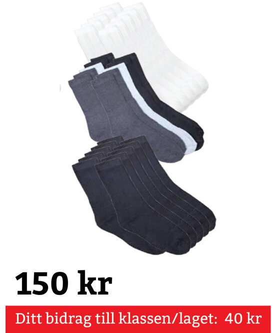 Sportstrumpa 10-Pack Str 31-35