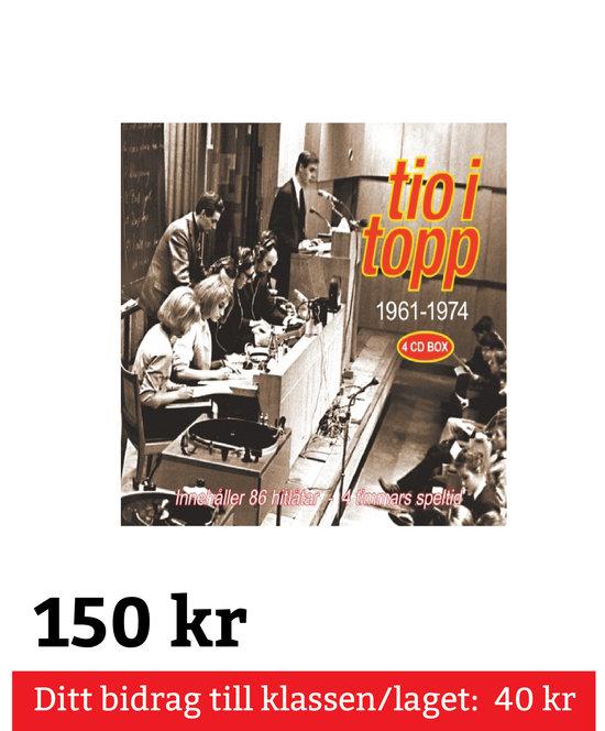Tio I Topp 1961 - 1974 (4CD) (Album)
