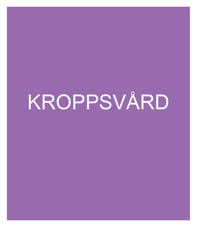 KROPPSVÅRD